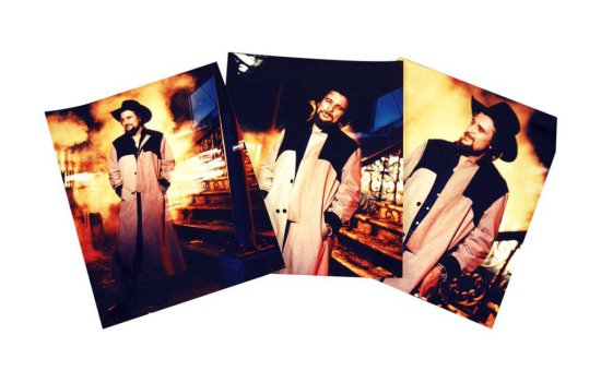 Five Color Photos of Waylon in a Custom Manuel Duster