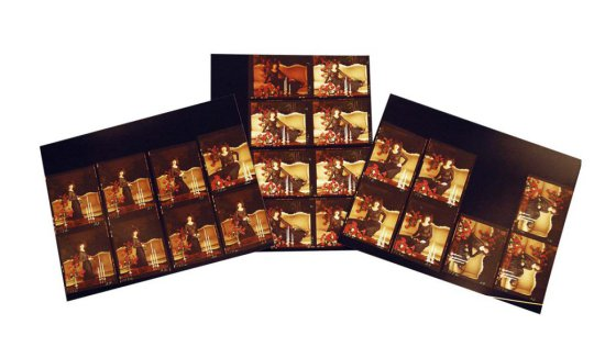 Twenty-five Photographic Contact Prints of an Elegant Jessi Colter