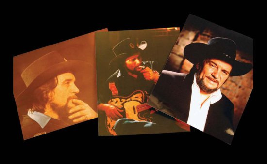 Six Assorted Color Photographs of Waylon Jennings