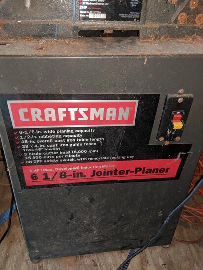"Craftsman 6 1/2"" Jointer-Planer runs and cuts"