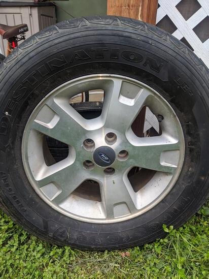 F150 Wheel and Tire P255/65/R17