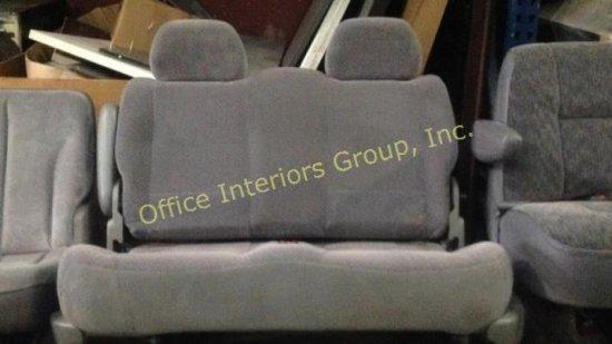 Grey van seat
