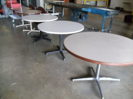 Round Laminate Table