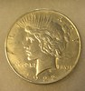 1922 Lady Liberty Peace Silver Dollar in fine condition
