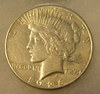 1926S Peace Silver dollar in very fine condition