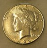 1922S Lady Liberty Peace Silver Dollar