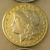1879S Morgan silver dollar in fine condition