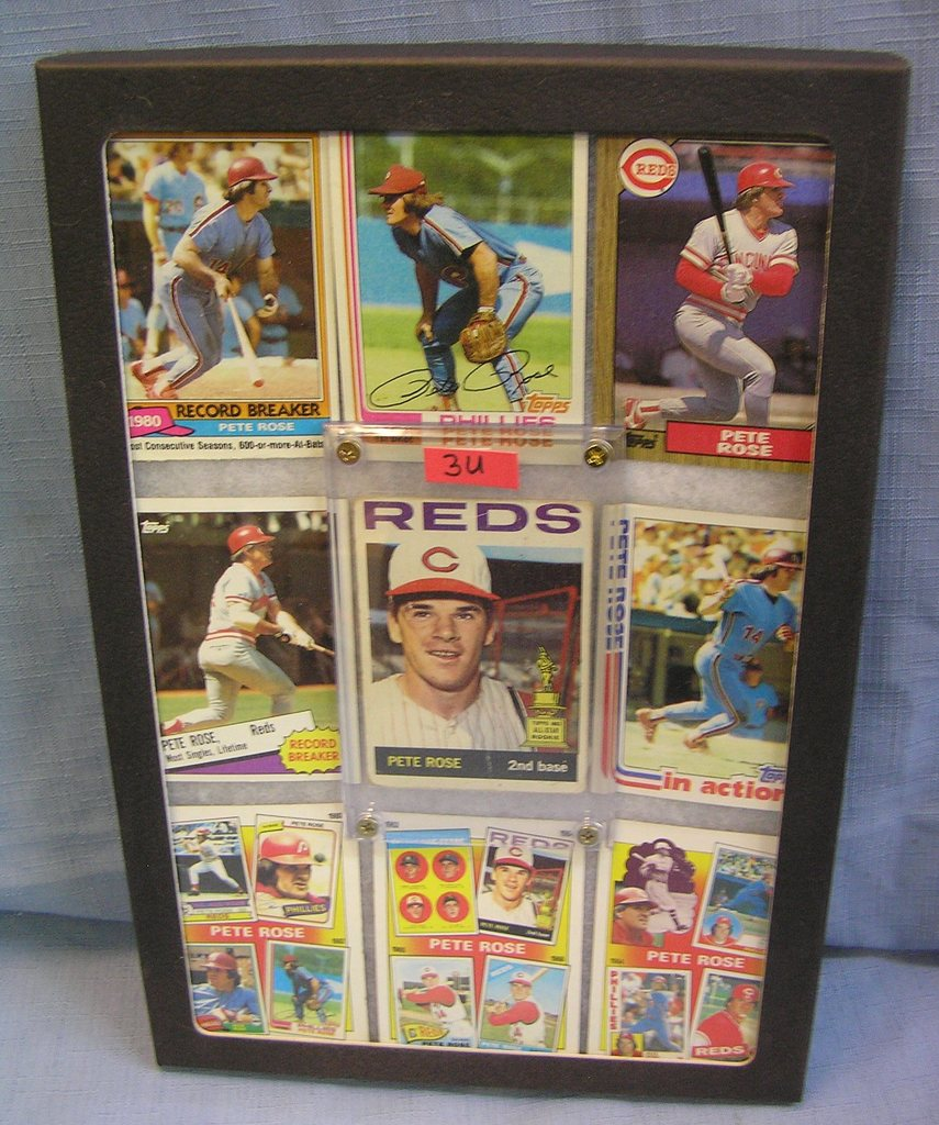 Lot Pete Rose Baseball Cards W 1st Year Rookie Card Proxibid