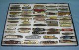 Antique pocket knife collection