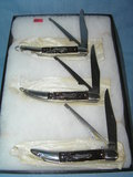 Group of vintage fish knives by Colonial Knife Co.