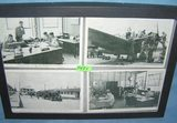 Group of vintage WWII military themed post cards