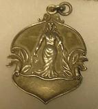Silver LA Sultana cup award medal