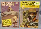 Pair of WWII era Popular Science magazines