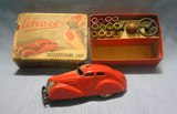 Early Schuco made in Germany wind-up car set