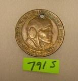 Amelia Earhart com. bronze medallion