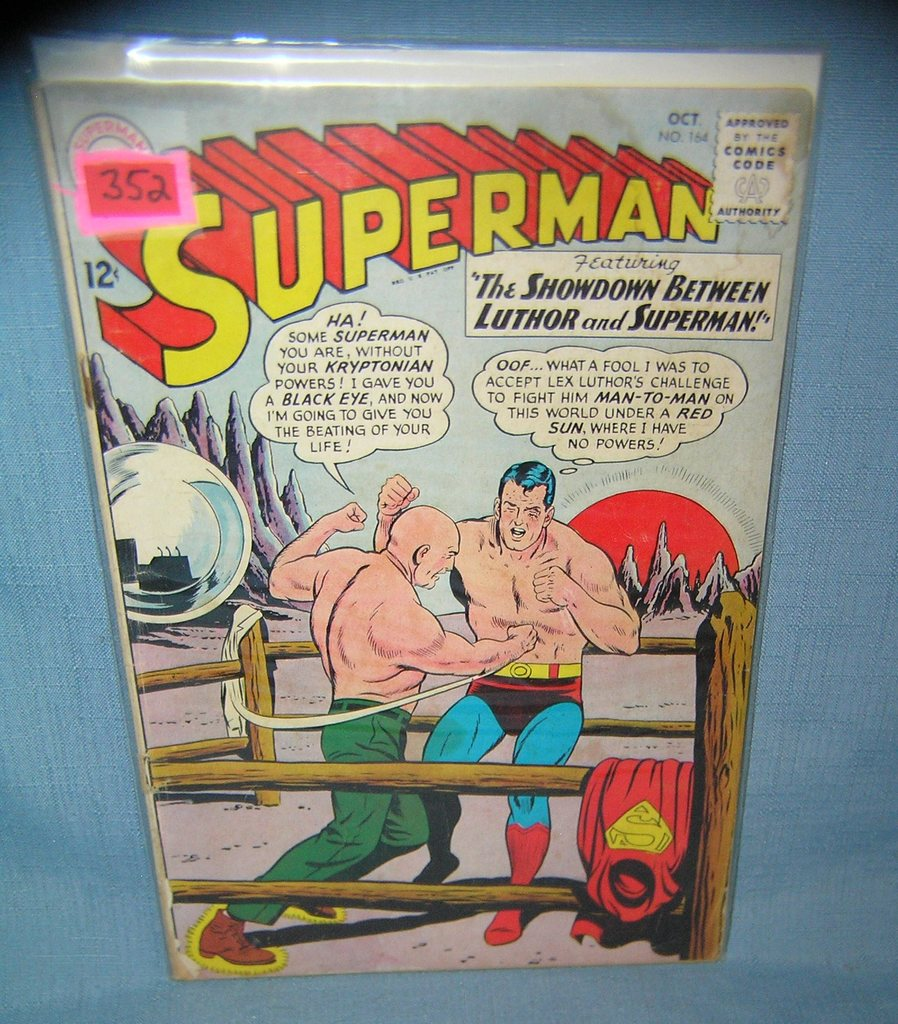 Early Superman Comic Book Art Antiques Collectibles Collectibles Comics Auctions Online Proxibid