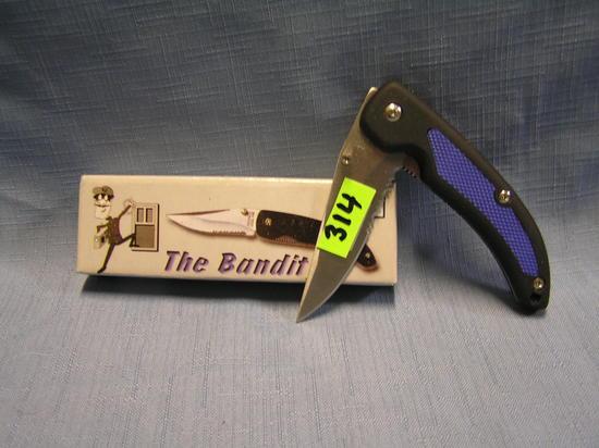 The bandit pocket knife with original box