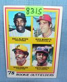 Dell Austin, Mike Easler rookie baseball card