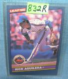 Rick Aguilera rookie baseball card