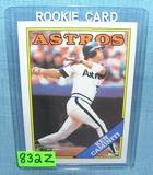 Ken Caminiti rookie baseball card