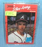 Vintage Steve Avery rookie baseball card