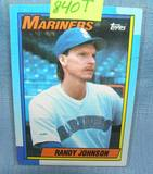 Vintage Randy Johnson rookie baseball card