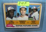 Vintage Tim Raines rookie baseball card