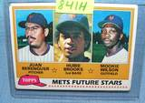 Moookie Wilson/Hubie Brooks rookie baseball card