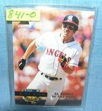 Vintage Tim Salmon rookie baseball card