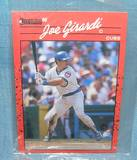 Vintage Joe Girardi rookie baseball card