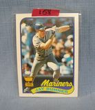 Vintage Jay Buhner rookie baseball card