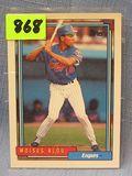 Vintage Moises Alou rookie baseball card