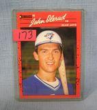 Vintage John Olerud rookie baseball card