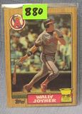 Vintage Wally Joyner rookie baseball card