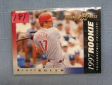 Vintage Scott Rolen rookie baseball card