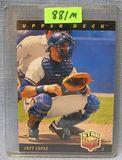Vintage Javy Lopez rookie baseball card