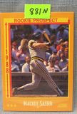 Vintage Mackey Sasser rookie baseball card