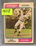 Vintage Burt Hooton rookie baseball card