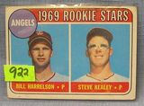 Vintage 1969 Angels rookie baseball card