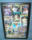 Vintage Kirk Gibson all star baseball cards
