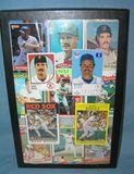 Vintage Wade Boggs all star baseball cards