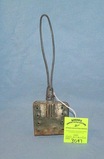 Antique copper soap swisher