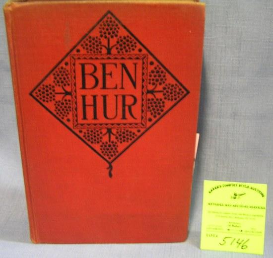 Vintage Ben Hur book by Lou Wallace