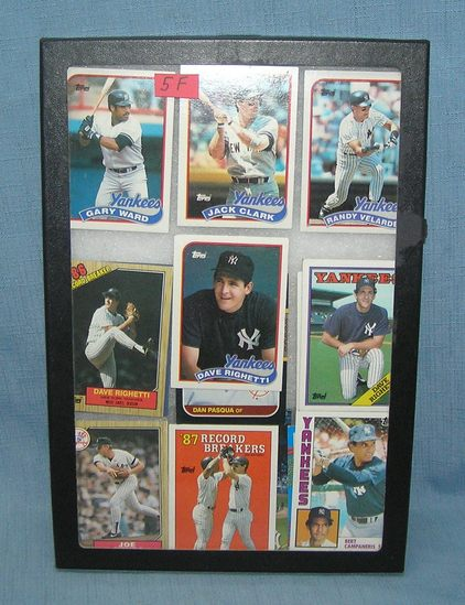 Group of vintage NY Yankees baseball cards