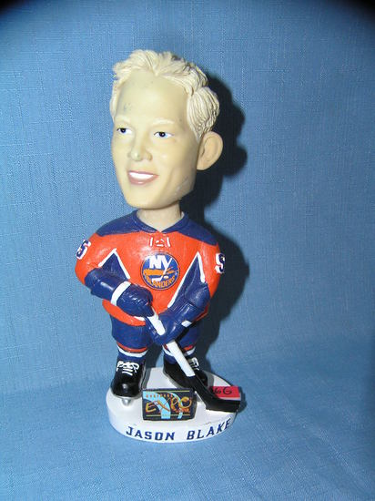 Jason Blake New York Islanders bobble head figure