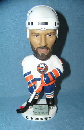 Ken Morrow New York Islanders bobble head figure
