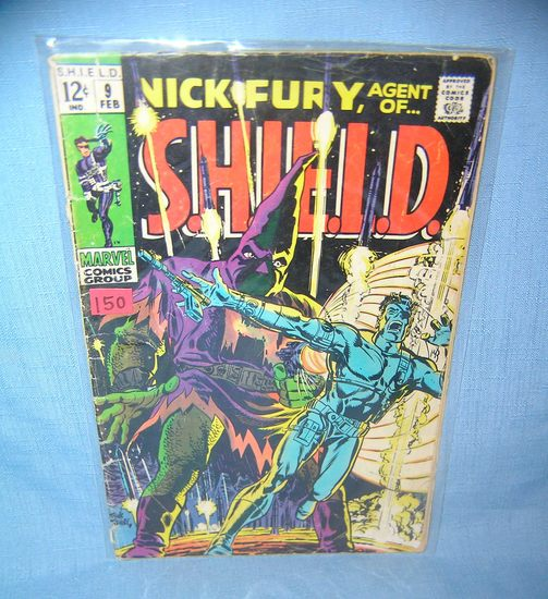 Early Nick Fury comic book