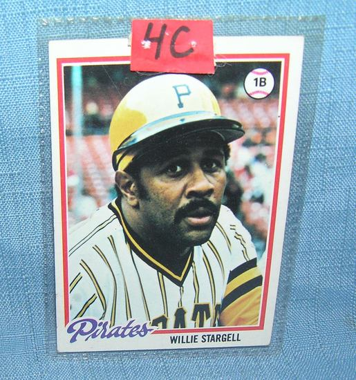 Early Willy Stargell all star baseball card