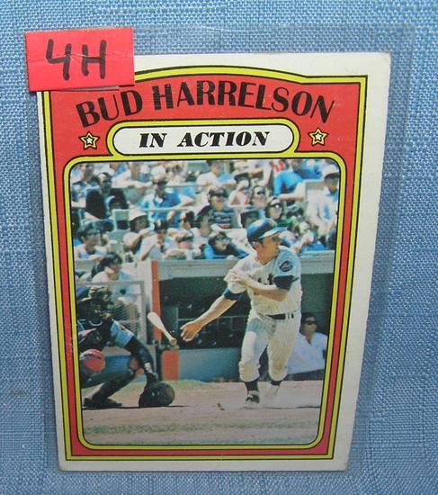 Vintage Bud Harrelson all star baseball card