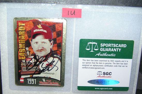 Dale Earnhardt tin Winston Cup